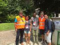 Krish and Laxmi with volunteers.jpg