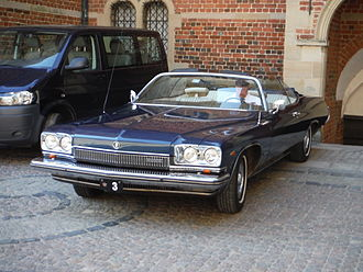 Buick Centurion - 1973 convertible owned by the Royal house of Denmark, used by Henrik, Prince Consort