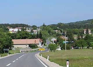 Krvavi Potok Place in Littoral, Slovenia