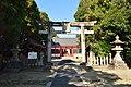 Kudo-jinja (Oji), torii.jpg