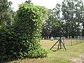 Kudzu on cemetery gate - Rehobeth Cemetery (Copiah County, MS).jpg