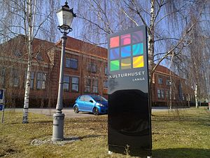 Langå - Image: Kulturhuset langaa