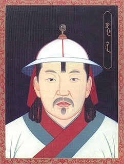 Khutughtu Khan Kusala 13Th Khagan of the Mongol Empire