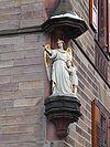 Kusel Skulptur katholisches Pfarramt.JPG