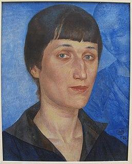 Anna Akhmatova Russian poet