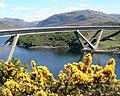 Kylesku Bridge in the Summer - geograph.org.uk - 521622.jpg