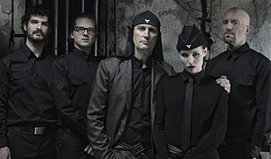 Laibach (band) - Laibach in 2011