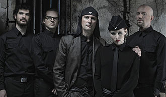 The industrial group Laibach LAIBACH Press Photo 2011.jpg