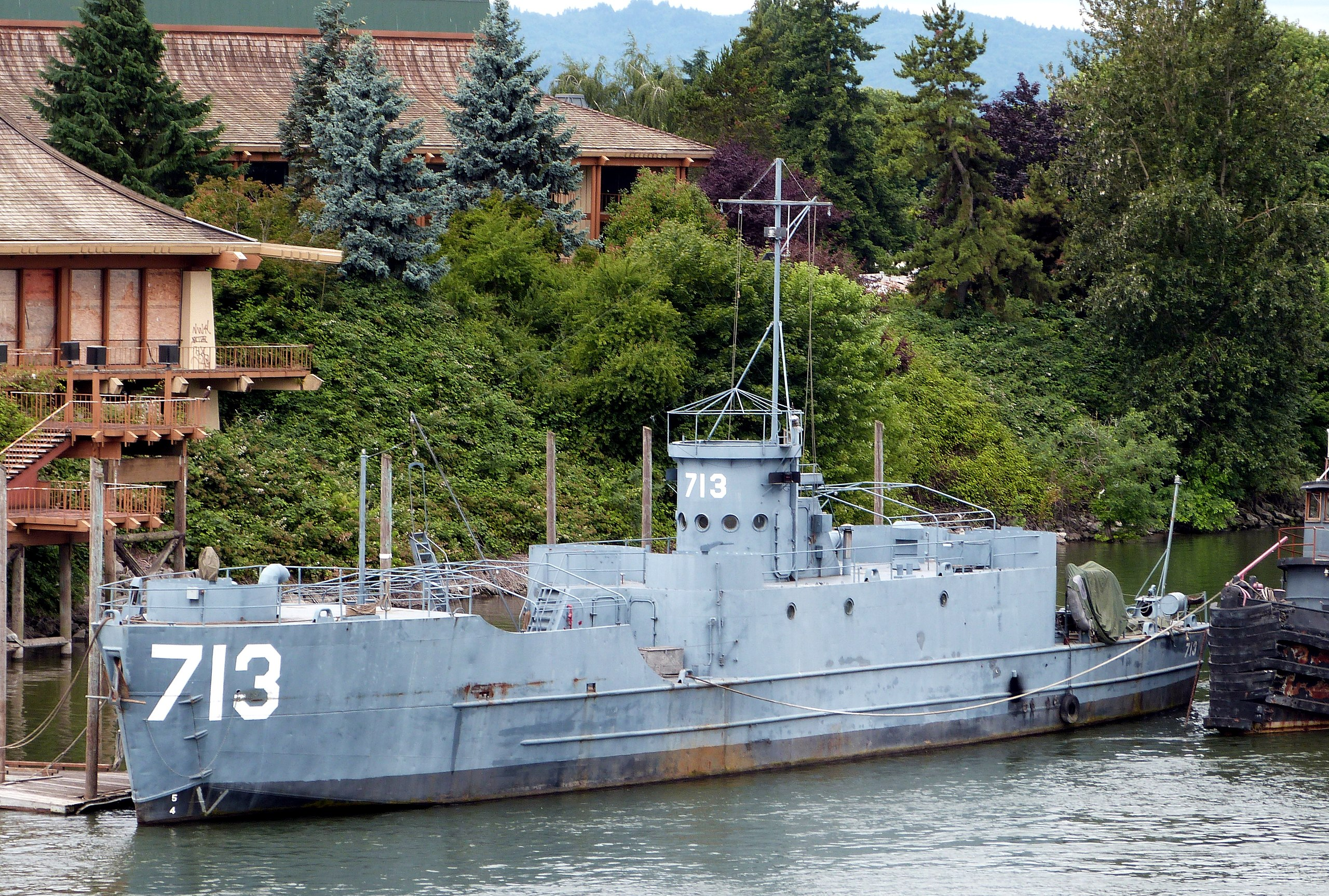 USS LCI-713 (Landing Craft)