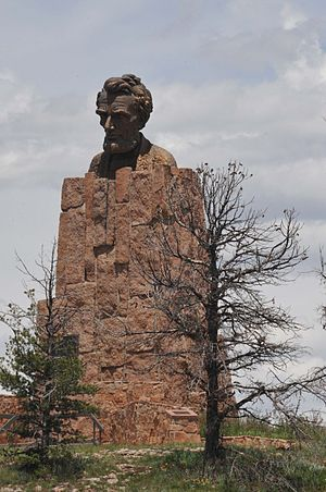 Albany County, Wyoming - Lincoln Monument, near Laramie, off Interstate 80