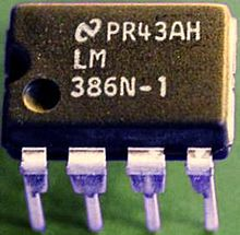 The LM386N-1 LM386-Operational amplifier.jpg