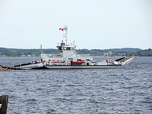 LaHave, Nova Scotia - Image: La Have River Ferry