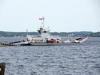 Riverport, Nova Scotia - Image: La Have River Ferry