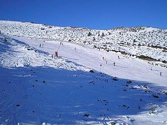 La Pinilla ski resort - Testeros zone, La Pinilla.