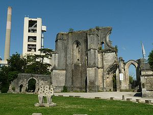 La Couronne, Charente - Ruins of the abbey