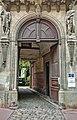 La rue Sainte-Anne (Toulouse) - N°22 Hôtel Bernet - Le porche.jpg