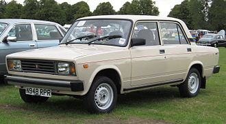 Lada - Over two million VAZ-2105s were produced from 1980 to 2010