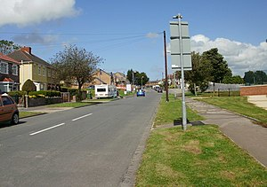 Ladyhill Road, Alway, Newport - geograph.org.uk - 1451072.jpg