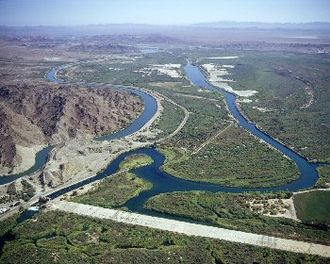 Yuma Project - Laguna Diversion Dam