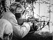 Lahti-Saloranta M-26 in position
