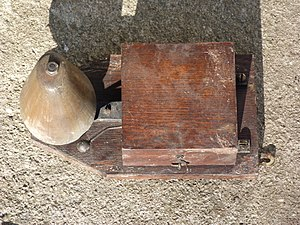 Doorbell - Doorbell from 1884 in Andrássy Avenue, Budapest