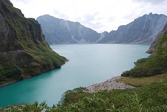 Luzon - Lake Pinatubo in Zambales