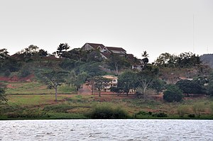 Idi Amin - Remnants of Amin's palace near Lake Victoria.