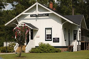 National Register of Historic Places listings in Columbus County, North Carolina - Image: Lake Waccamaw Depot Museum