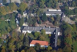 Lackenbach - Image: Lakompak légifotó1