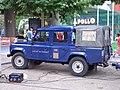 Land Rover Defender 110 CrewCab 1316 Bier 60 Jahre NRW-Fest Duesseldorf sideleft 2006-08-26 U.jpg