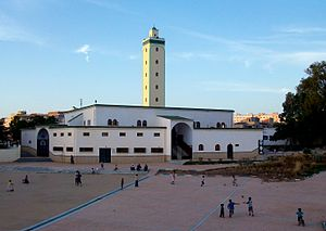 Islam in Morocco - A mosque in Larache