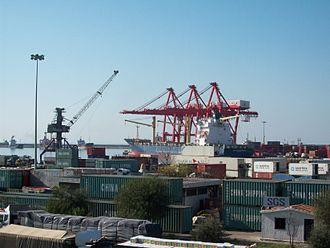 Latakia Governorate - The Port of Latakia, Syria's main seaport