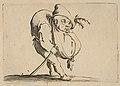 Le Bossu a La Canne (The Hunchback with a Cane), from Varie Figure Gobbi, suite appelée aussi Les Bossus, Les Pygmées, Les Nains Grotesques (Various Hunchbacked Figures, The Hunchbacks, The Pygmes, The Grotesque Dwarfs) MET DP818581.jpg