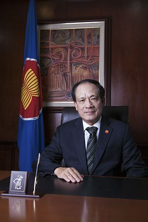 Secretary General of the Association of Southeast Asian Nations - Image: Le Luong Minh