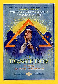 Le Triangle d'Or by Maurice Leblanc (1st part book cover).jpg