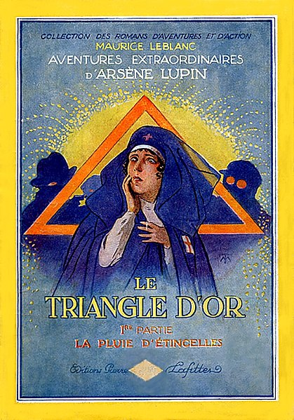 File:Le Triangle d'Or by Maurice Leblanc (1st part book cover).jpg