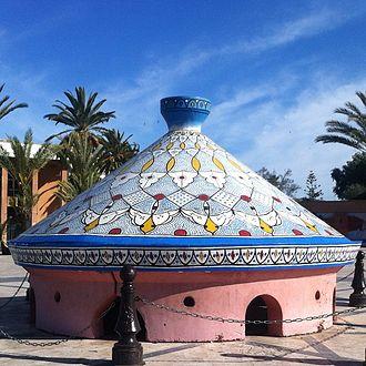 Tajine - Tajine statue in Safi, Morocco