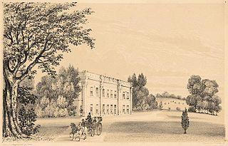 Leeswood, Flintshire. The Seat of John Wynn Eyton, Esqr