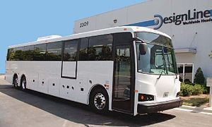 Environmental Performance Vehicles - DesignLine EcoCoach bus