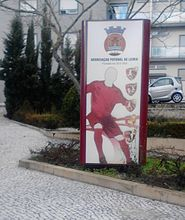Leiria Football Association sign.jpg