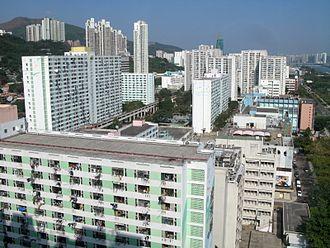 Public housing estates in Sha Tin - Lek Yuen Estate