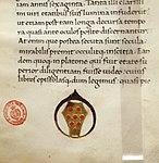 Leonardo bruni, commentarius rerum suo tempore gestarum, firenze 1462 (bml, pluteo 65.18) 02.jpg