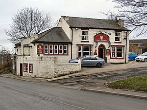 Darcy Lever - Image: Levers Arms geograph.org.uk 1709145
