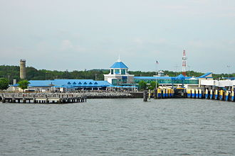 Cape May–Lewes Ferry - The Lewes, Delaware terminal