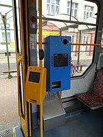 Liberec, tram 42, automat na jízdenky.jpg