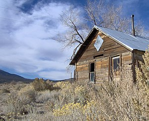 Abandoned house in Lida, Nevada.