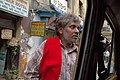 Life on the streets of downtown Kolkata, taxi car, India.jpg