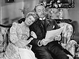 Irene Dunne en William Powell in Life with Father
