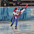 Lillehammer 2016 - Speed skating Men's 500m race 1 - Dmitrii Filomonov 1.jpg