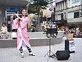 Lily Cao as Nezuko Kamado playing the western concert flute 20201101e.jpg